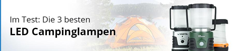 Der große Test zu LED Campinglampen