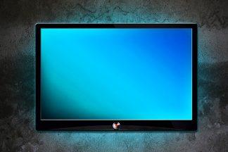 Fernseher mit Hintergrundbeleuchtung