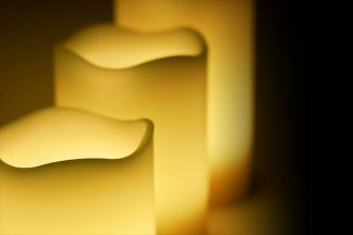 Stimmungsvolle Kerzen