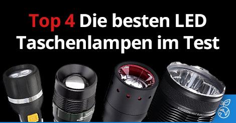 Top 4: Die besten Taschenlampen