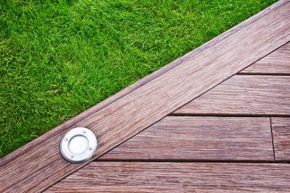 Holzboden Einbaustrahler