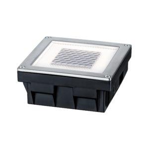 Paulmann Bodeneinbauleuchten-Set Solar Cube